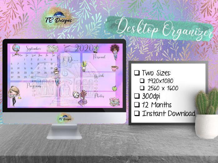 Back to School Desktop Organiser