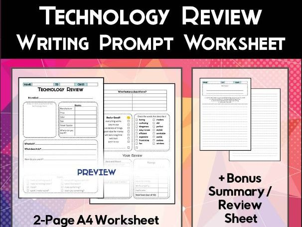 Technology Review Worksheet