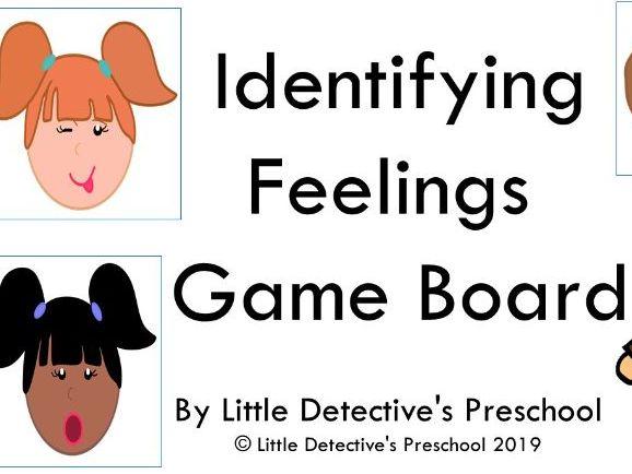 Identifying Feelings Gameboard