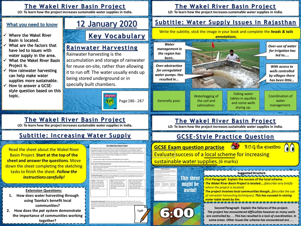 Water Management: The Wakel River Basin Project