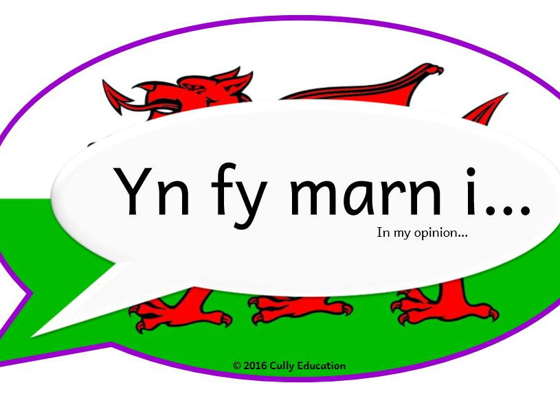 Incidental Welsh Posters for the Y5 Classroom