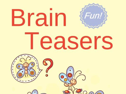 Brain Teasers: For Ages 4-8