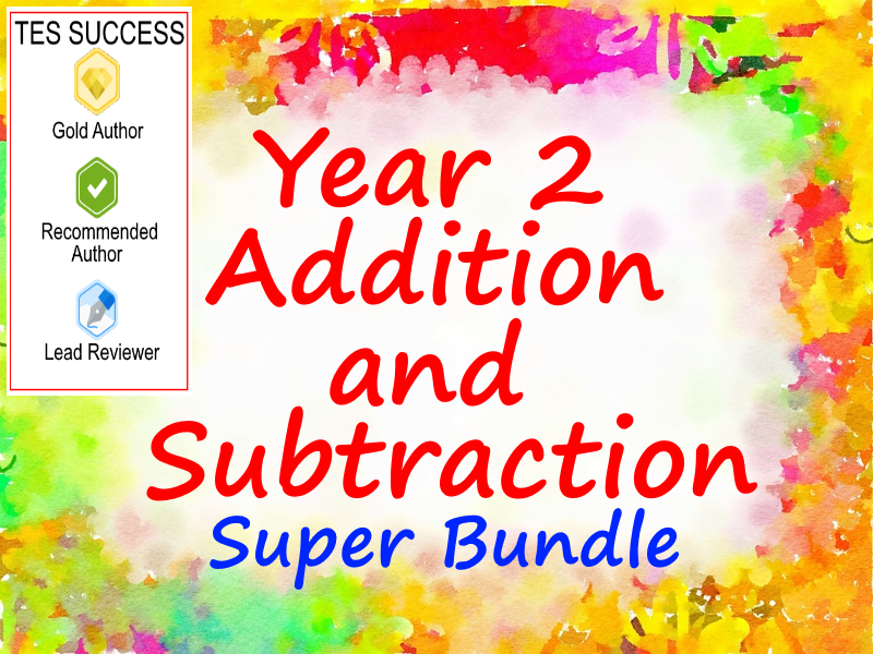 Addition and Subtraction Bundle For Year 2
