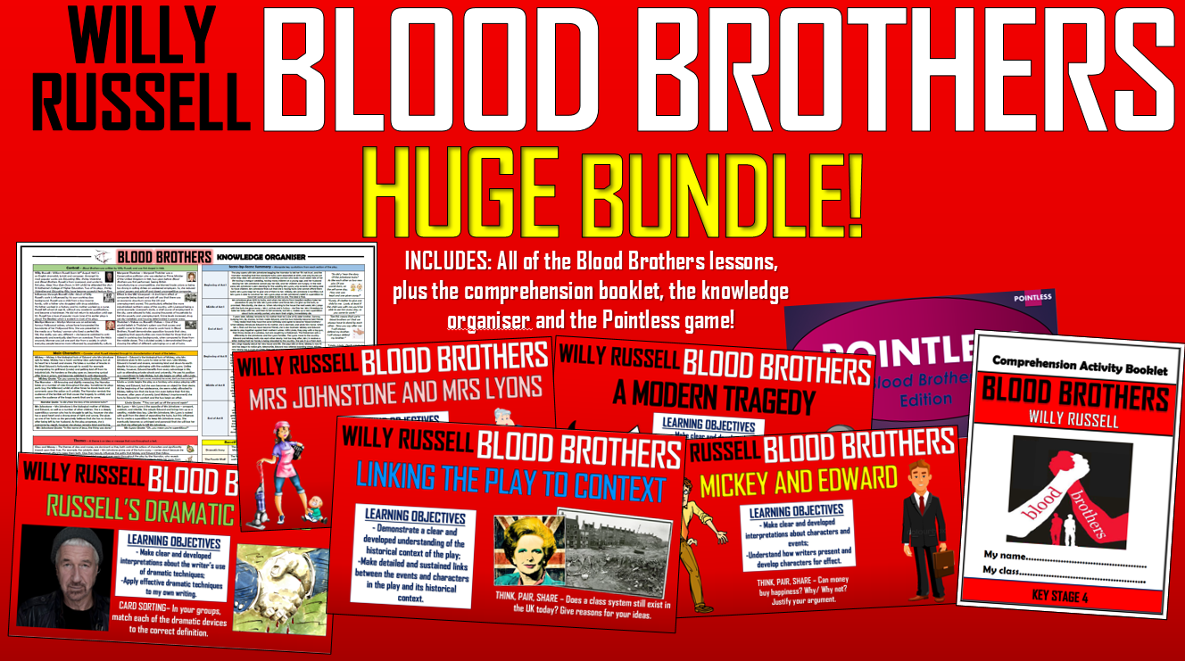 Blood Brothers Huge Bundle!