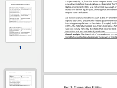 """EDEXCEL A level Politics """"Evaluate how far the US Constitution protects state power"""" essay plan"""