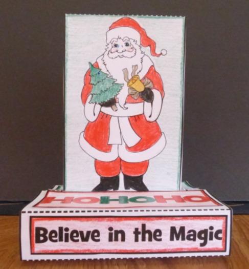 Christmas Crafts - POP-UP Craftivity