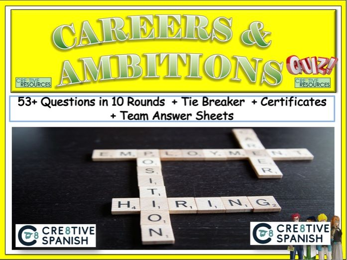 Spanish Quiz - Careers and Ambitions