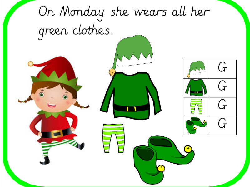 Christmas Investigation: Elves Clothes Finding All the Possibilities
