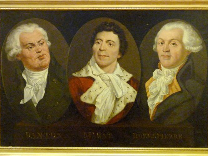 Danton, Desmoulins, Marat and Robespierre - The Rise of the Revolutionaries