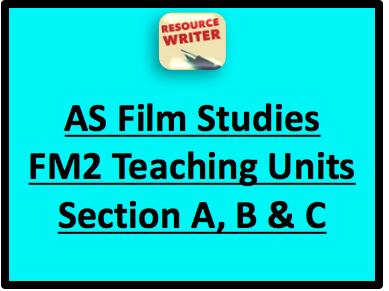 AS Film Studies FM2 Exam Bundle