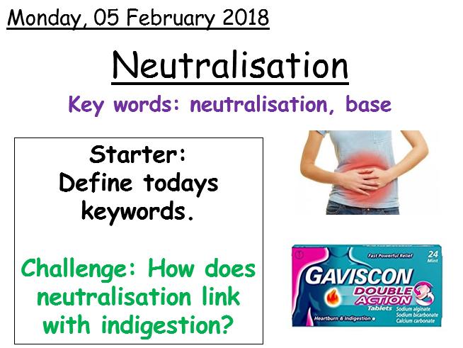 Year 7 - Neutralisation