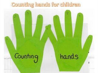Counting hands for children