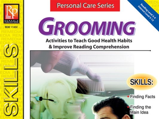 Grooming: Personal Care Reading Comprehension