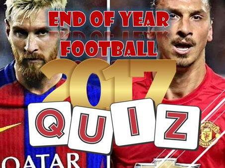 Christmas 2017:  Football Quiz Bundle