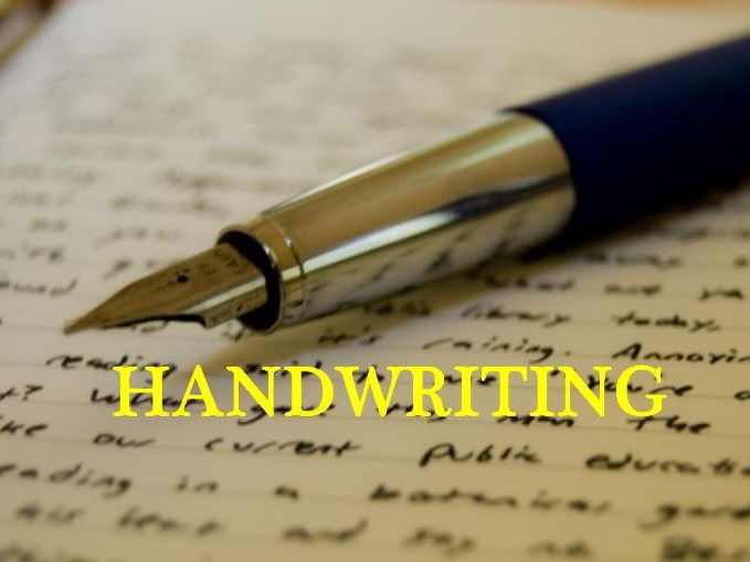 Handwriting for Australian Stage 4/5 students