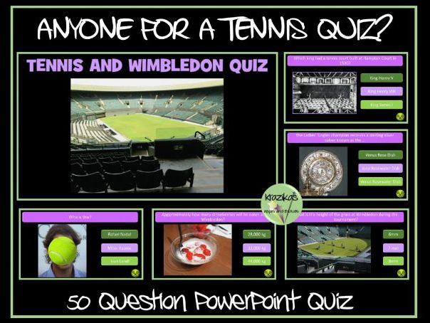 Wimbledon 2019 / Tennis Quiz