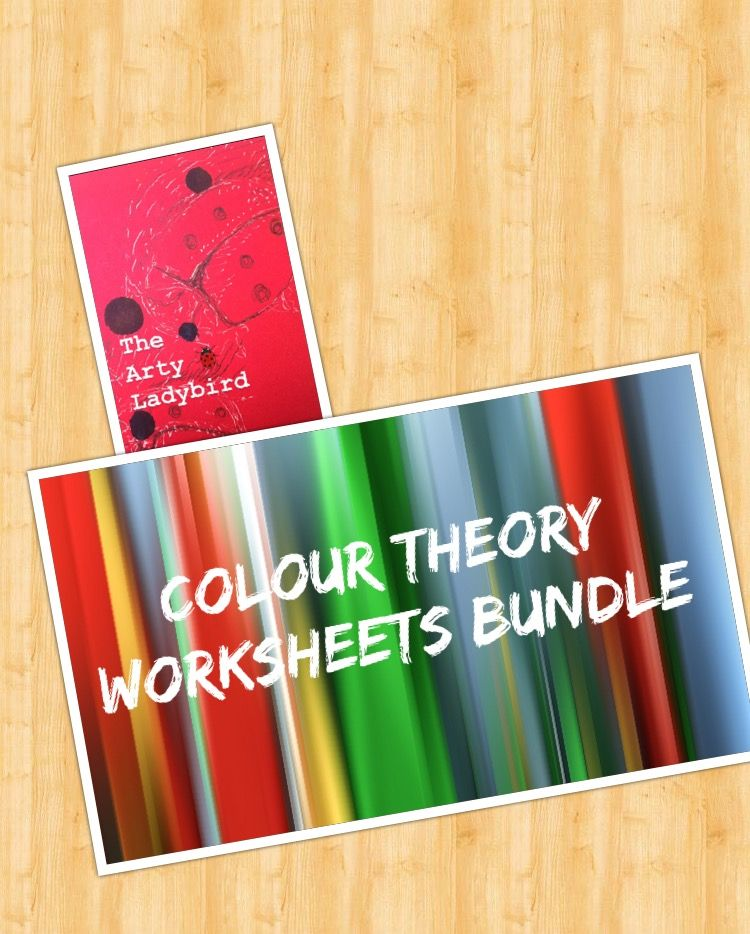 Colour Theory Worksheets Bundle