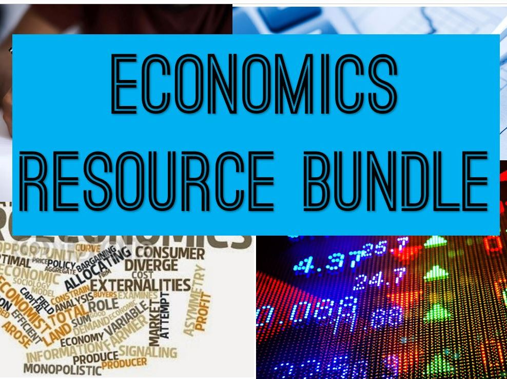 ECONOMICS - MICRO - HUGE BUNDLE