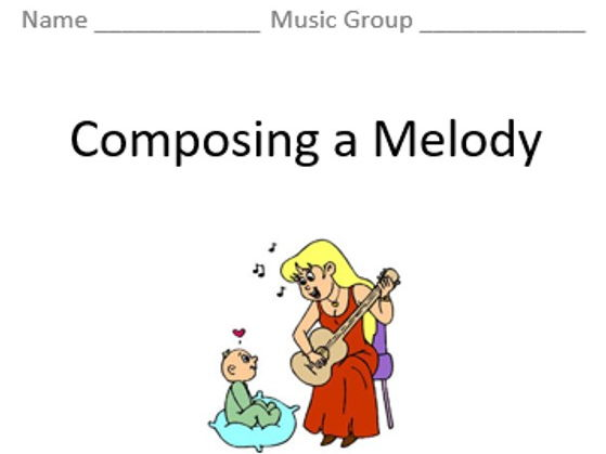KS3 Composing a Melody (Lyrics & Scales) - Topic Booklet