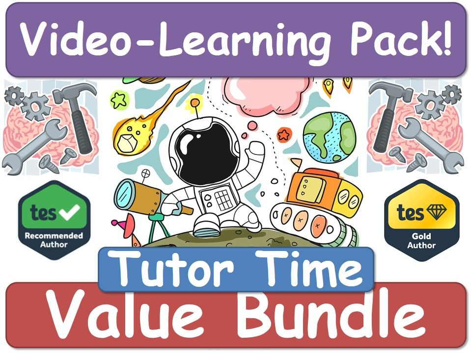 Tutor Time! Tutor Time! Tutor Time! [Video Learning Pack]