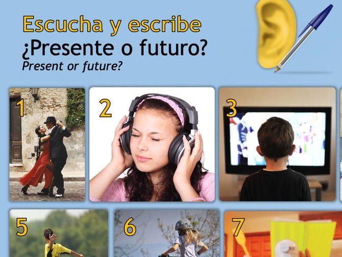 Present vs Future Tense (Listen/Translate)