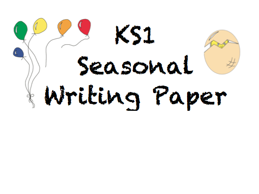 KS1 Seasonal Writing Paper