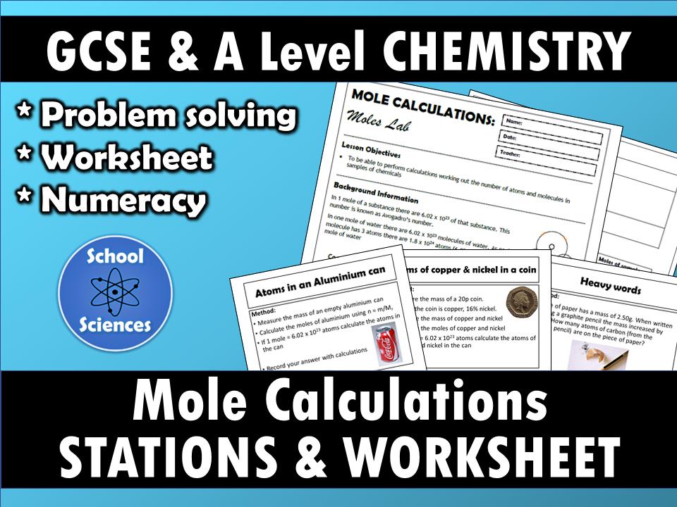 Mole Calculations: Stations Lab