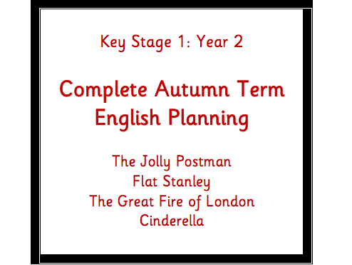 KS1 (Y2) English Overview (Cycle A) Book Planning Autumn Term