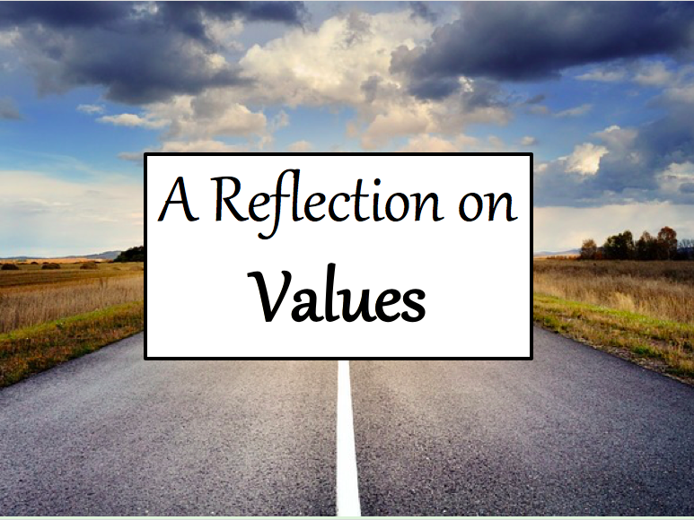 Tutor Time Reflection on Values