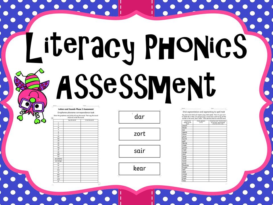 Year 1 Literacy Phonics Assessment