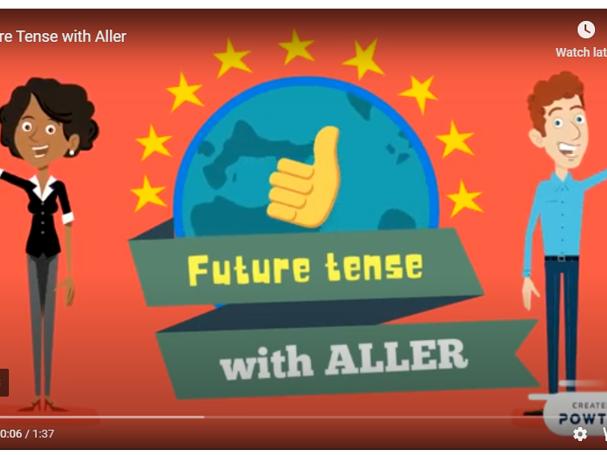 Future Tense with Aller /  Near Future