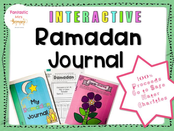 Ramadan Interactive notebook: printables, activities and crafts