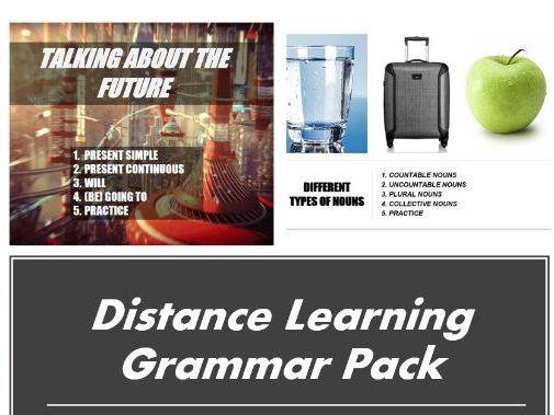ESL Grammar Pack. Distance Learning