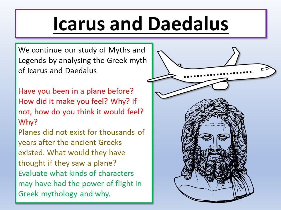 Myths and Legends Icarus