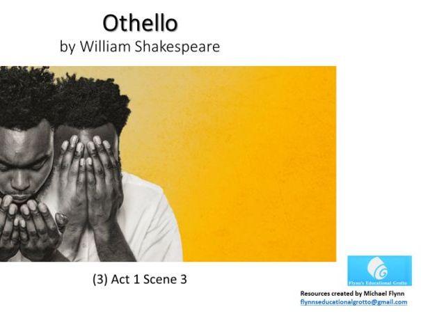 A Level Othello (3) Act 1 Scene 3