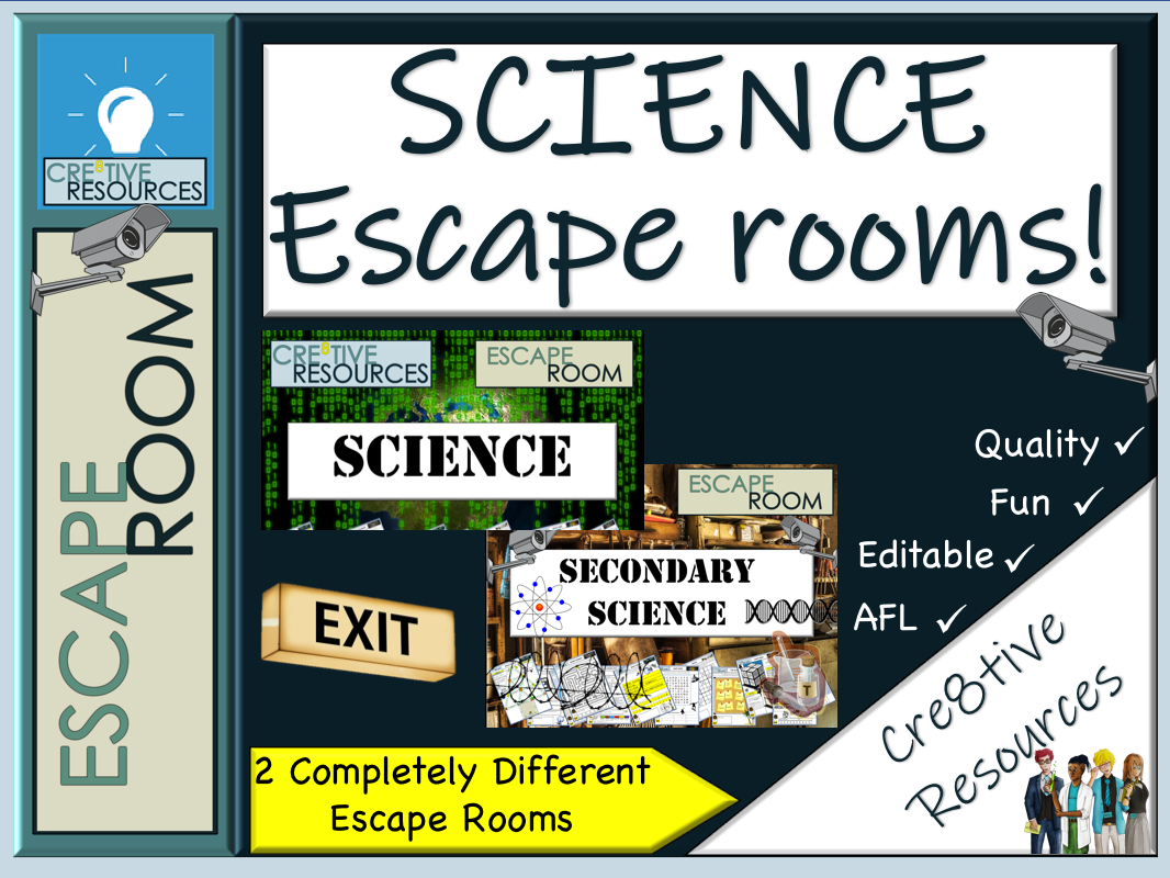 Science Escape Rooms