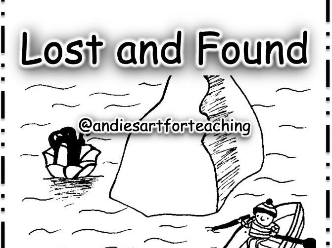 Lost and Found: Cut, sequence, colour and write about the story