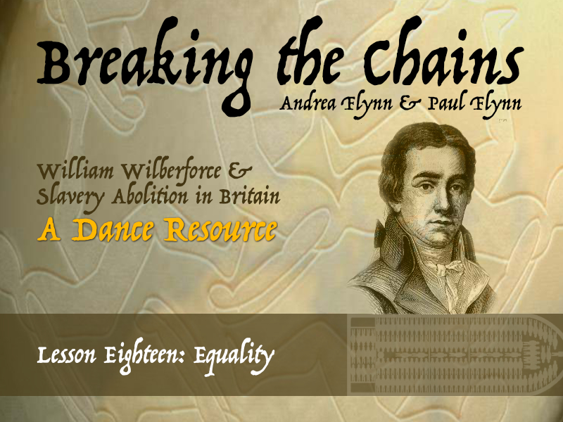 Breaking the Chains - Lesson Eighteen - Equality
