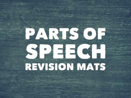 Parts of Speech Revision Mats
