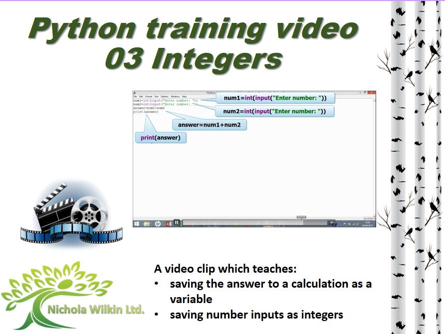 Python training video – 03 Integers
