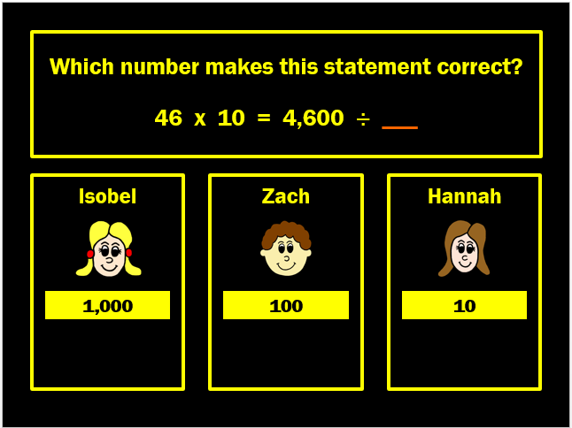 Multiplying and Dividing by 10 and 100 Powerpoint Game (Game Two) by Arithmetickx