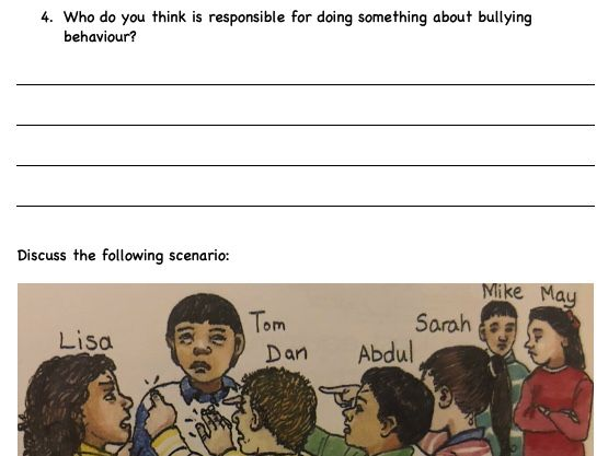 Consequences and Bullying - PSHE lesson (Supply)