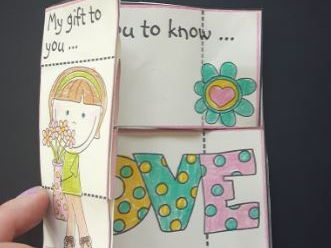 Mother's Day Craft - Endless Postcard