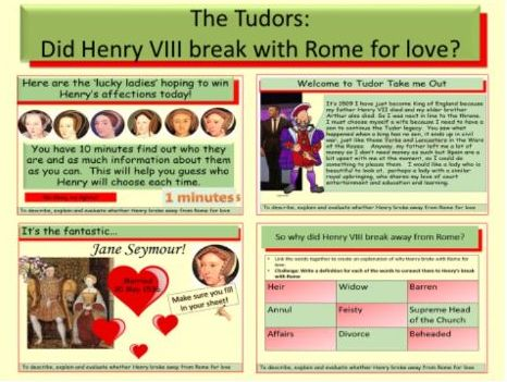 The Tudors: Did Henry VIII break from Rome for love?
