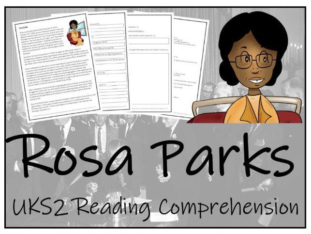 UKS2 Rosa Parks Reading Comprehension Activity