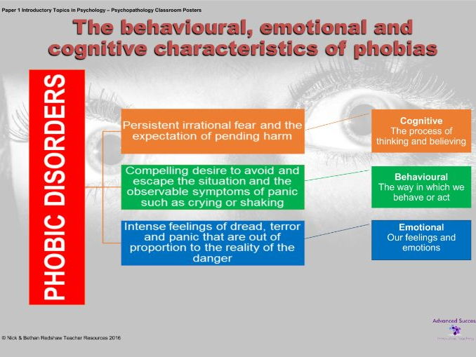 understanding the causes of phobias psychology essay Genetic and environmental factors can cause phobias children who have a close relative with an anxiety disorder are at risk of developing a phobia distressing events, such as nearly drowning.