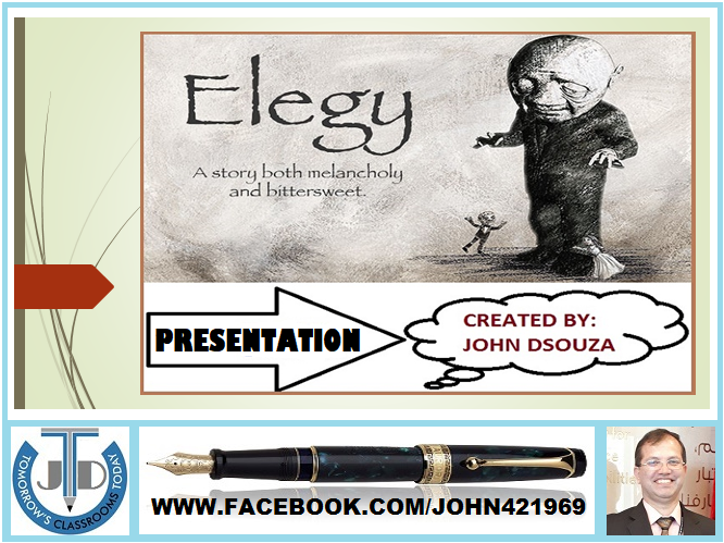 ELEGY - A LYRIC POEM TO LAMENT: PRESENTATION