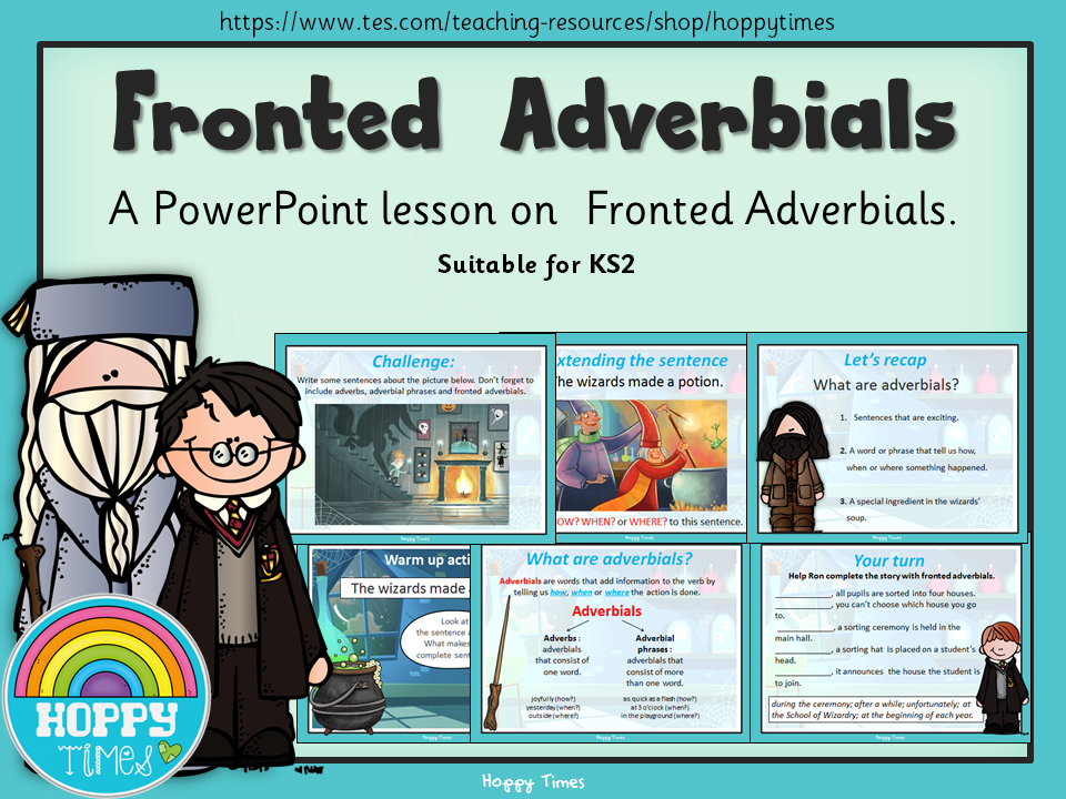 Fronted Adverbials Lesson (English, SPaG)