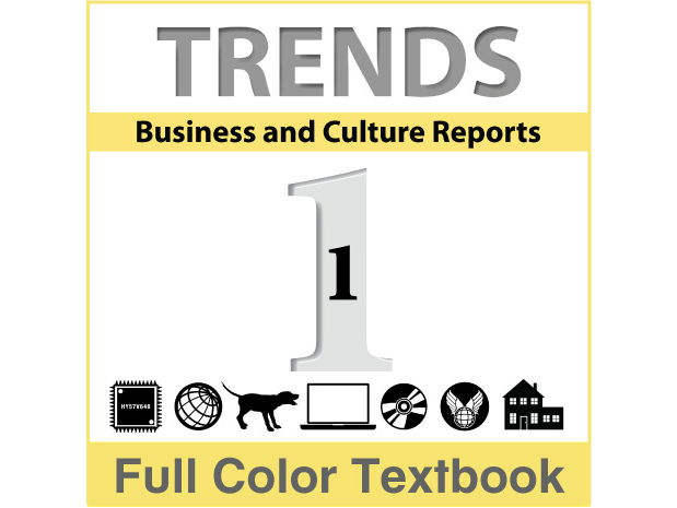 Trends - Business and Culture Reports, Book 1 - Full Textbook