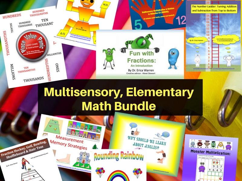 Multisensory, Elementary Math Bundle